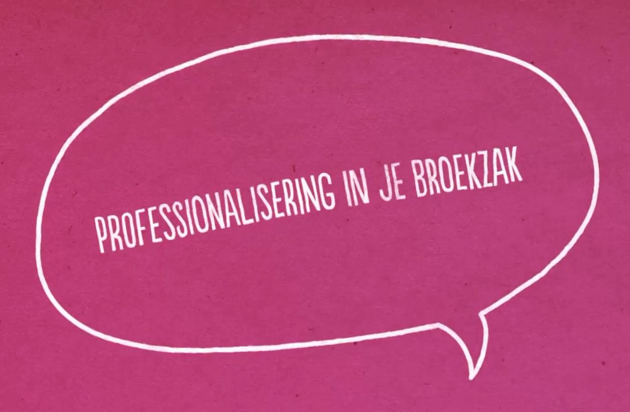 Professionalisering in je broekzak